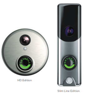 slim and round skybell doorbell